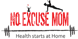 No Excuse Mom logo